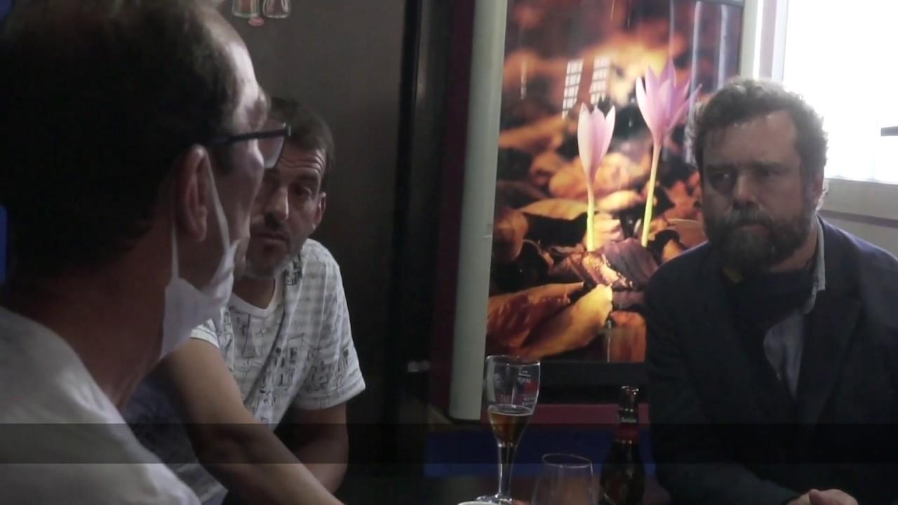 Escena real vivida en un bar de pescadores gallegos