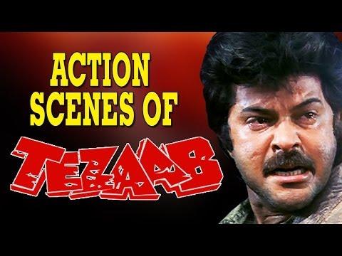 Tezaab (1988) Action Scenes | Anil Kapoor | Jukebox