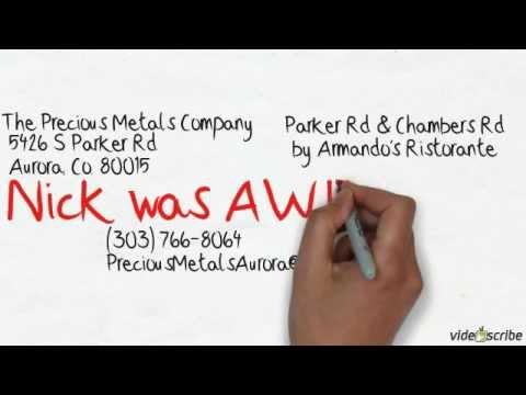 The Precious Metals Company | Video Scribe Ad | Cash For Gold |Aurora Colorado | 80015