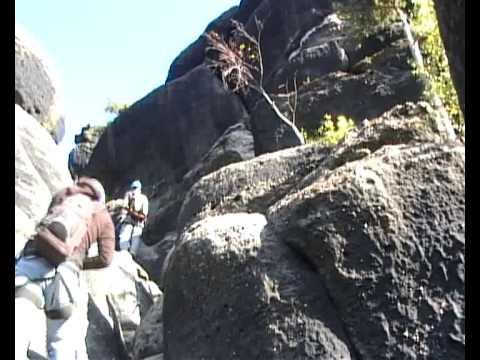 Klettersteig Jonsdorf : Klettersteig nonnensteig youtube