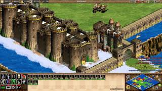 💯C.S 🇵🇪 CBA HERO 3vs3 CIVI⚔️MONGOLES⚔️I WIN😀Age of Empires II💯