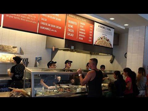 Chipotle shares plummet following report of norovirus at Virginia restaurant