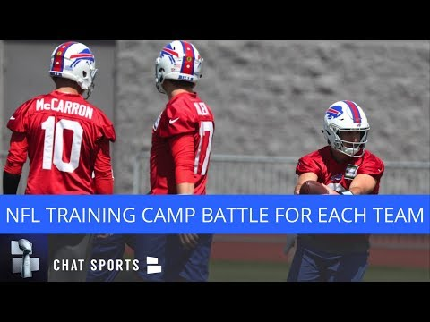 NFL Training Camp Battle To Watch For Each Team