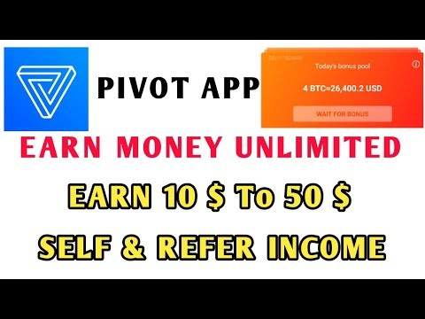 Daily ₹ 1928 Get Every 6 hr 🎉 Pivot app 🎉 Free Bitcoins and USD Simple Work || Tamil