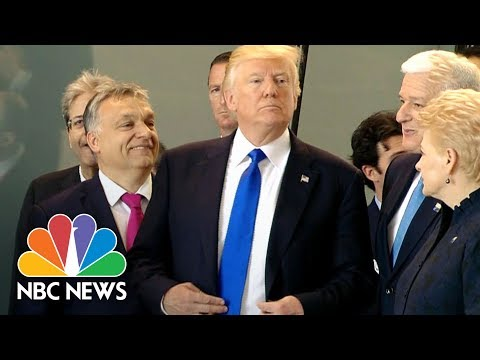 A Look Back At Donald Trump's Awkward Moments With World Leaders | NBC News