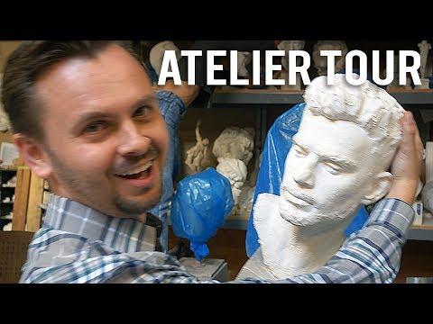 Grand Central Atelier Studio Tour!!!