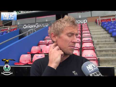 Richie Foran - Scottish Premiership Player of the Month - August 2013