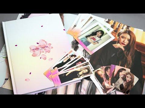 [4K] LOVELYZ 러블리즈 - 'ALWAYS LOVELYZ' MAKESTAR PHOTO BOOK 화보집 - 2019 - Unboxing