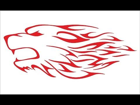 How to Draw a Wolf tattoo / Как нарисовать татуировку волка