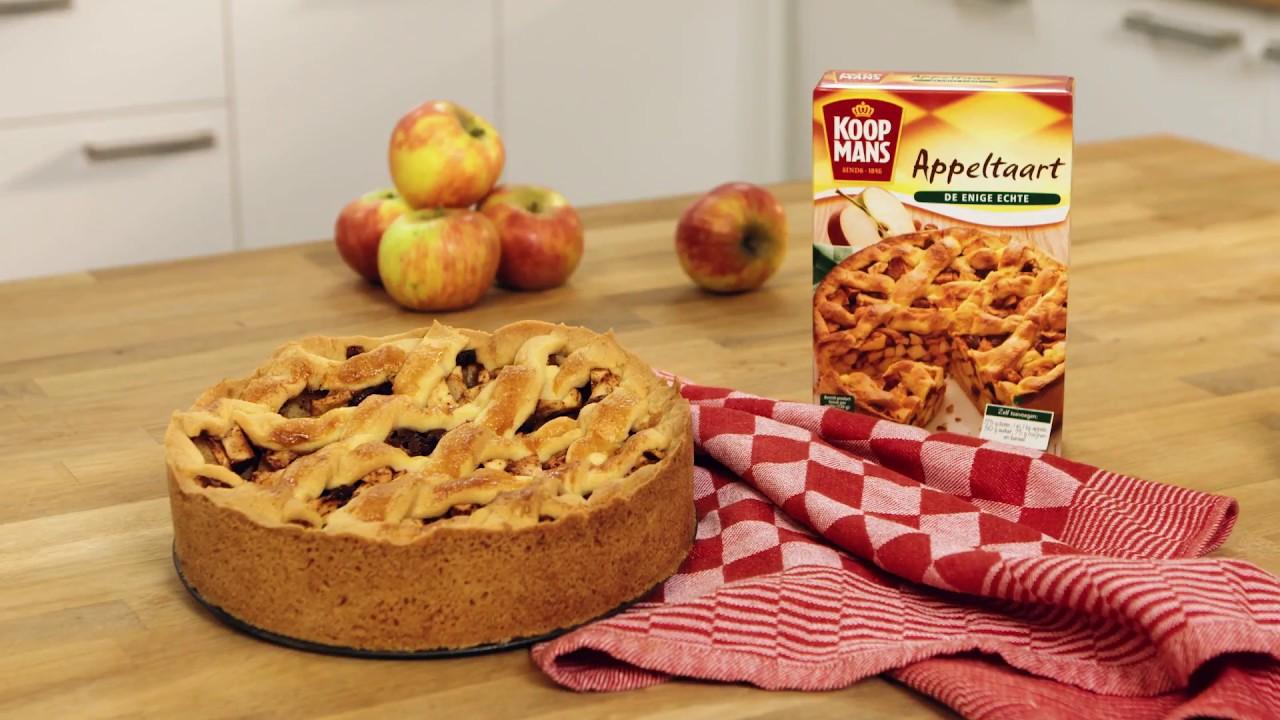 grote appeltaart bakken