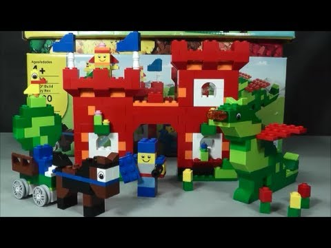 Lego 4630 Castle Scene Youtube