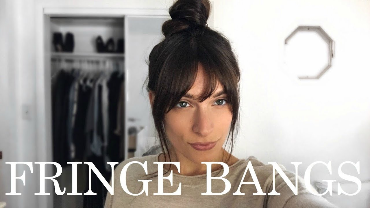 how to style bangs with long hair how to style fringe bangs 70s vibes 9150 | maxresdefault