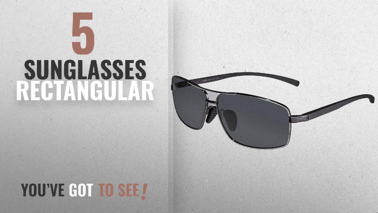 a3164297ba Top 10 Sunglasses Rectangular   Winter 2018    SUNGAIT Ultra ...