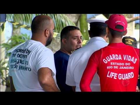 Sobrevivente de naufrágio na Baía de Sepetiba (RJ) ajuda equipes de resgate