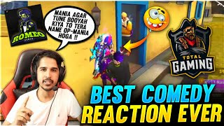 AJJUBHAI, AMITBHAI AND ROMEO GAMER OP REACTION EVER // SOLO VS SQUAD #FREEFIRE