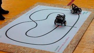видео Областные робототехнические соревнования для начинающих