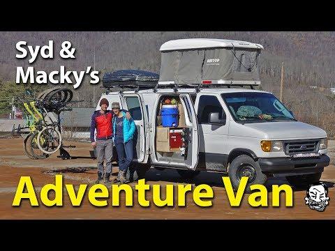 Van Tour - Syd & Macky's Econoline Adventure Van