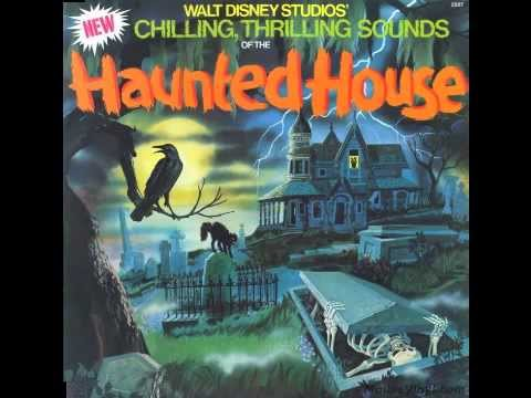 Disney chilling thrilling sounds of the haunted house for House classics album