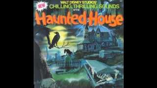 Cover images CLASSIC! | Disney Chilling Thrilling Sounds of The Haunted House (1979 Vinyl Rip)