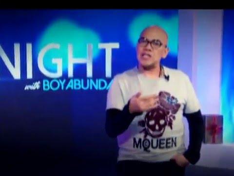 TONIGHT with Boy Abunda December 14, 2015 Teaser