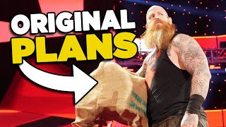 Original Plan For EricK Rowan's WWE Spider Angle Revealed!