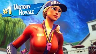 Getting A Victory Royale With The Sun Strider Skin (Fortnite Battle Royale)