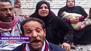 «مأساة أب» فقد 4 من عائلته بعد انهيار منزله: «محتاجين مكان يلمنا».. فيديو