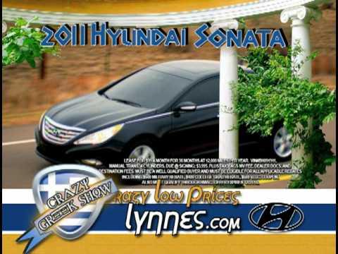 Lynnes Hyundai Crazy Greek