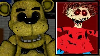 GOLDEN FREDDY PLAYS: Five Nights at Baldi's Nightmare Edition || BALDI'S FRIENDS ARE NIGHTMARES!!!