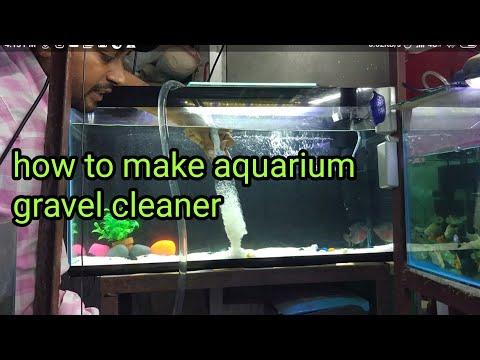 how to make gravel cleaner syphon कैसे साफ़ हो पत्थर बालू