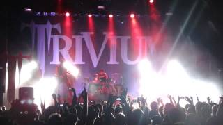 Trivium live in San Francisco 2013 - Divinity & Throes of Perdition
