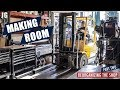 Creating More Space In The Shop | JIMBO'S GARAGE