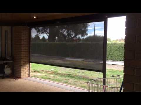Outdoor Motorised blinds Melbourne