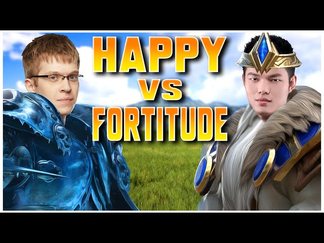 Grubby | WC3 | HAPPY vs FORTITUDE - Cast