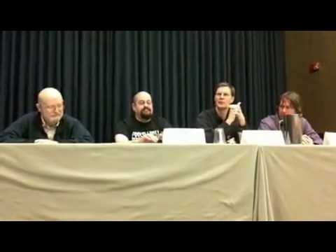 Singularity Panel with Vernor Vinge, Charlie Stross, Alastair Reynolds, Karl Schroeder (full)