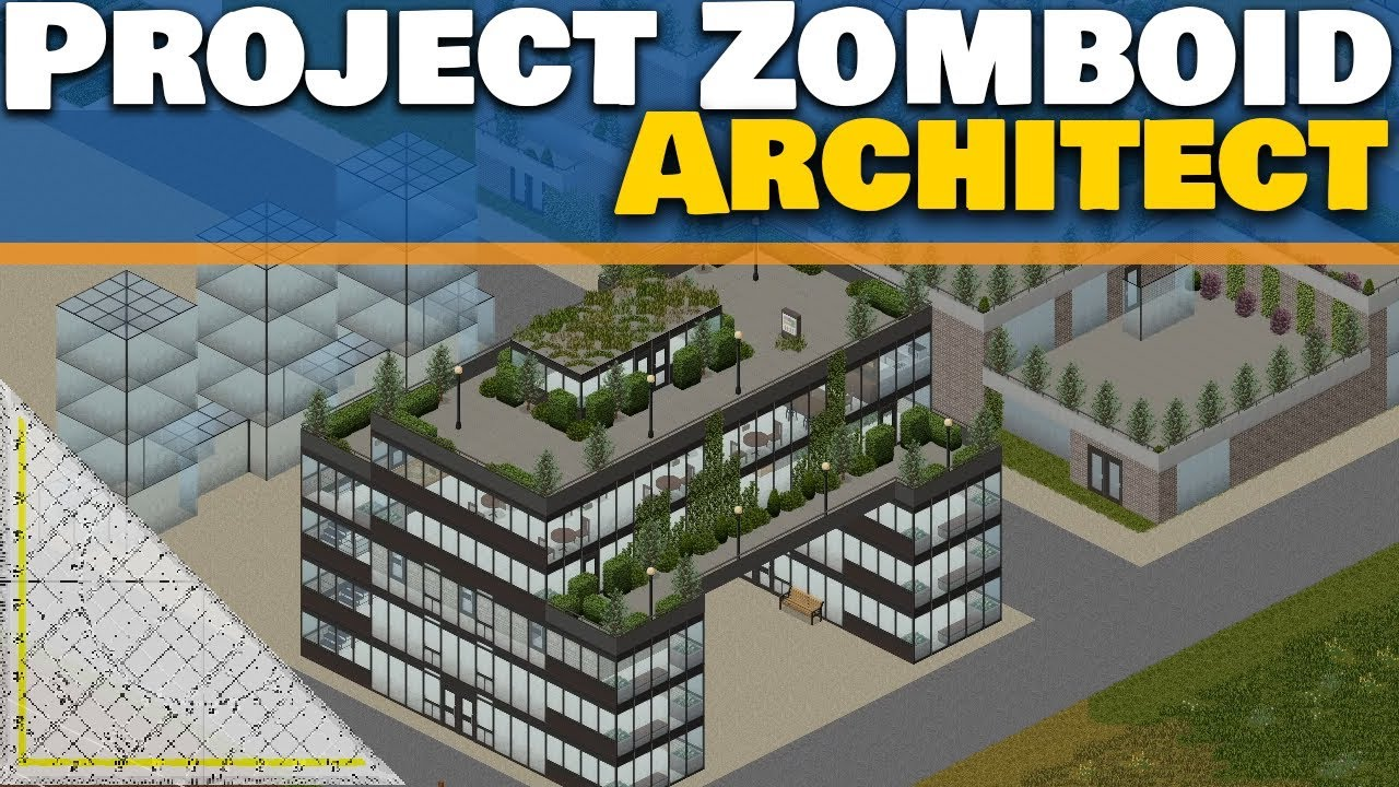 Project Zomboid Architect Ep 20   Let's Build a City   Landscaping, Building  Editor, Streams, & More