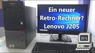 Ein neuer Retro-Rechner? - Lenovo J205 • KEPU94