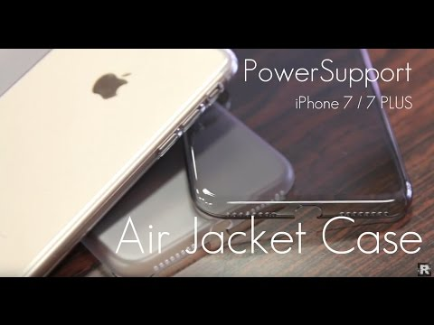 huge discount f3086 65d9c PowerSupport Air Jacket Case - Clear / Smokey / Frosted Edition - iPhone 7  / 7 PLUS