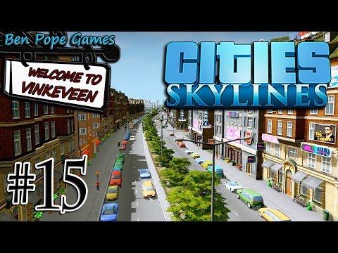 Cities: Skylines - (European Themed City) - #15 RiverSide Park