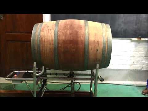 Barrel Cleaning in the cellar