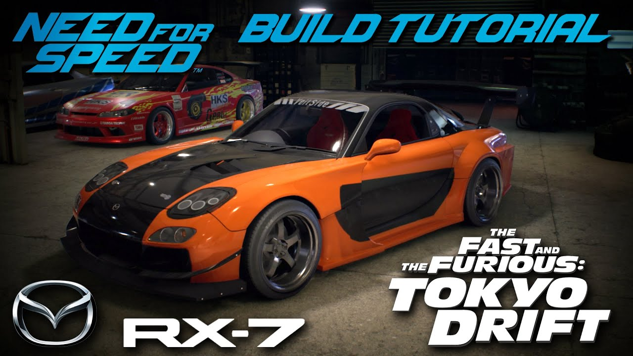mazda rx7 fast and furious body kit. need for speed 2015 tokyo drift hanu0027s mazda rx7 build tutorial how to make youtube rx7 fast and furious body kit