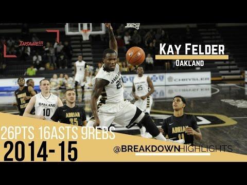 Kay Felder - Full Highlights VS Detroit - 26pts 16asts 9 rebs | The Next Isaiah Thomas |