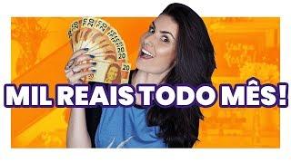 5 MANEIRAS DE GANHAR MIL REAIS (ou mais) LIMPOS TODO MÊS! thumbnail