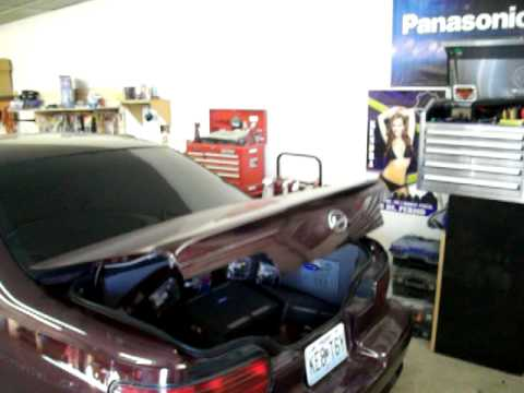 Nw Audios 96 Impala Ss Trunk Pop With 2 15 Quot Subwoofers In
