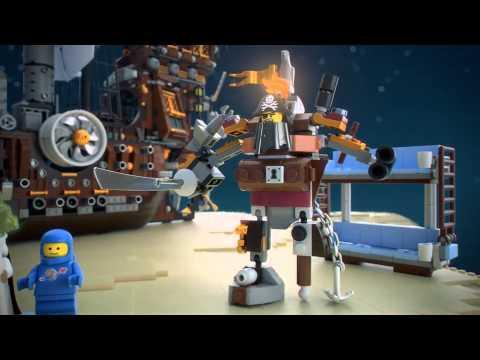 The Lego Movie | Lego 70810 | Metalbeards Sea Cow | Lego 3D Review