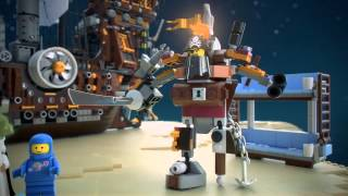 The Lego Movie | Lego 70810 | Metalbeards Sea Cow | Lego 3D Review