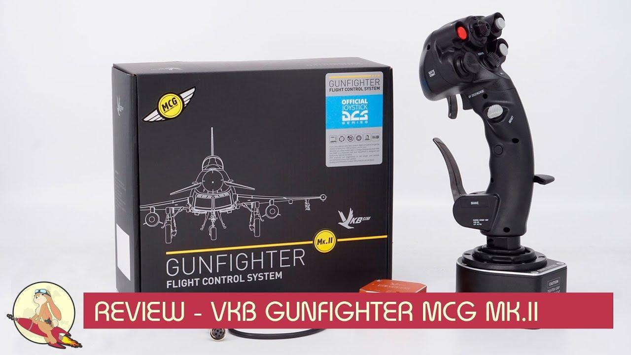 review vkb gunfighter mcg