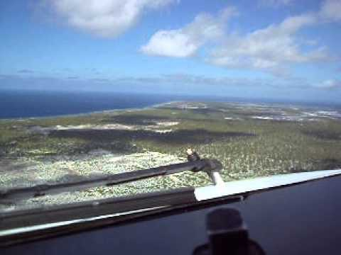 Kevin Mullenger Flies Approach Into Christmas Island