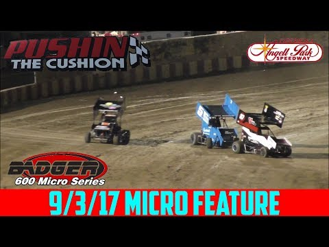 Angell Park Speedway - 9/3/17 - Micros - Feature