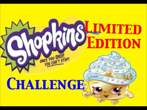 Shopkins Limited Edition Challenge | How Would We React To Getting One | PSToyReviews
